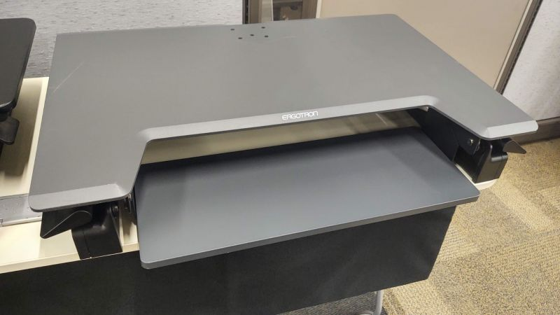 Ergotron Standing Desk Converter (Grey)
