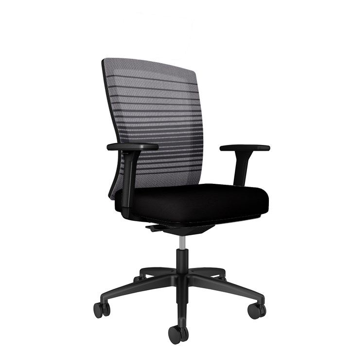 AIS Natick Black Task Chair