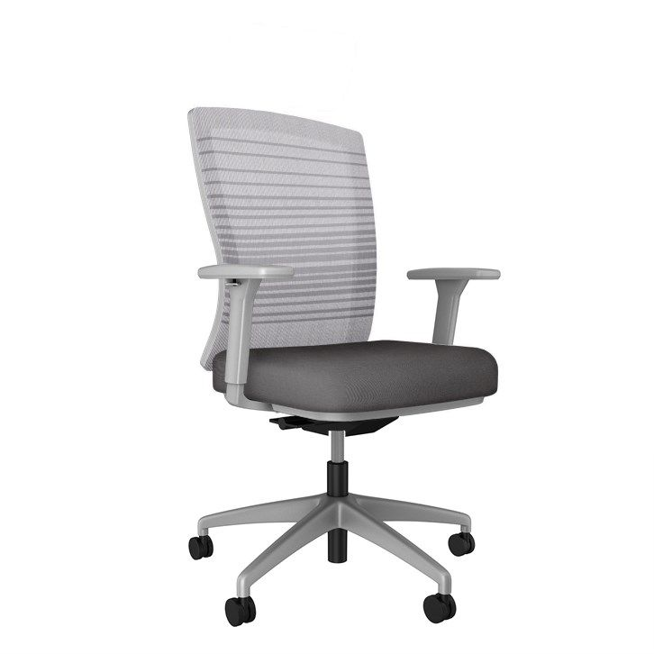 AIS Natick Grey Task Chair
