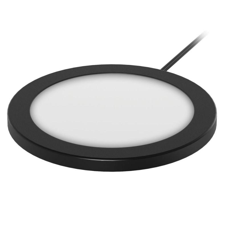 Office Source Super Slim LED Puck Light Kit (3-Pack)