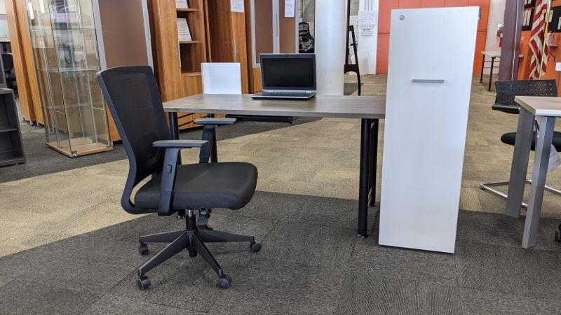 OFC Home Office Set 2 (Totem Laminate) RH