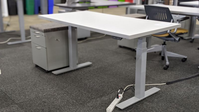OFC Adjustable-Height Table Desk Set 1