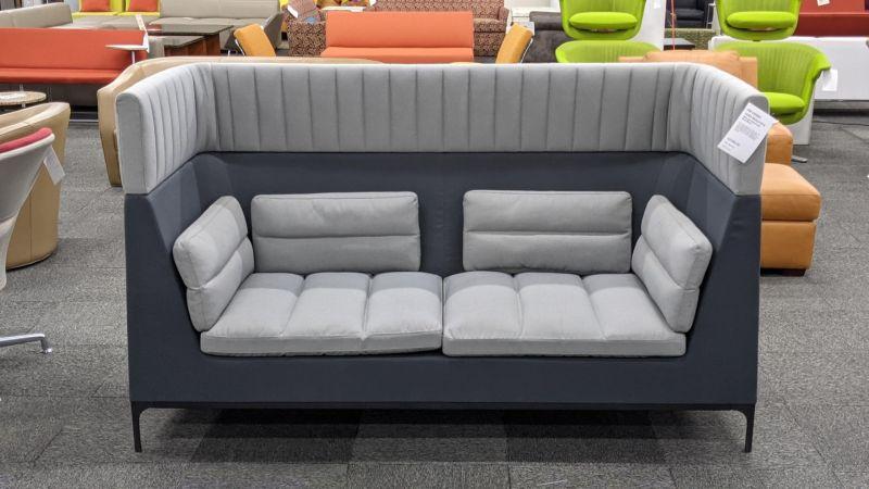 Allermuir Haven Sofa (Grey/Navy)