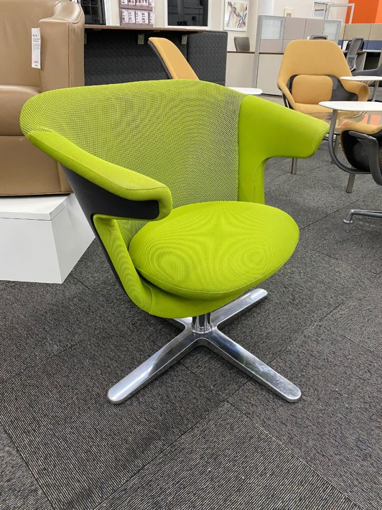 Steelcase i2i Lounge Chair (Green)
