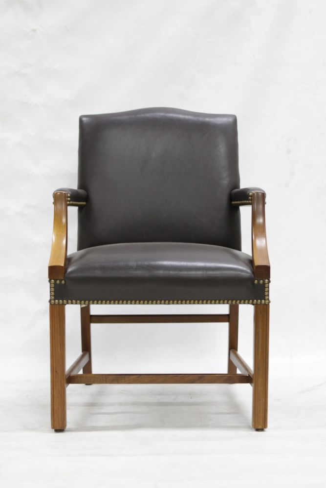 Taylor Armchair (Brown Leather)
