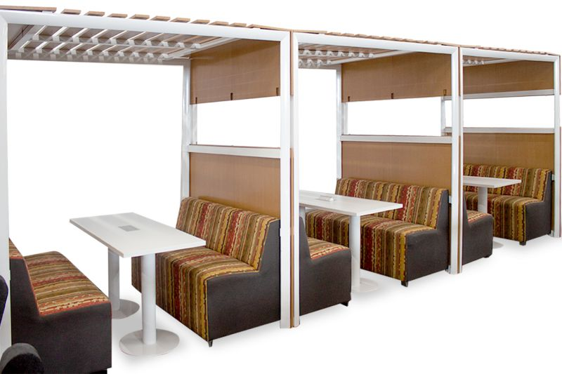 OFS Three Section Break Room Canopy Set
