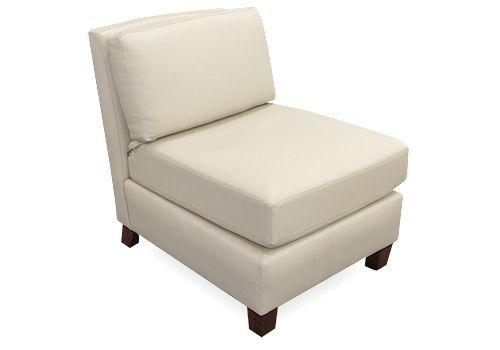 HBF Lounge Chair (Cream Leather