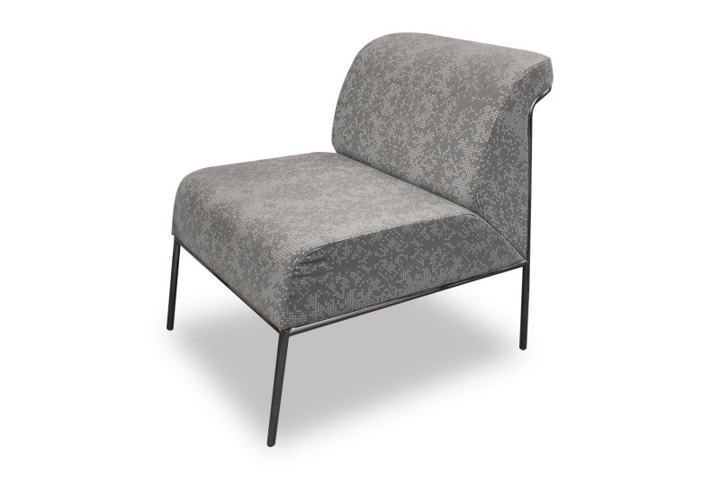 Stylex Lounge Chair (Dot Patterned)