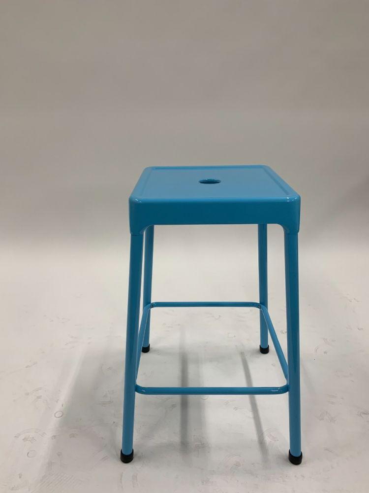 Safco Steel Stool (Blue)