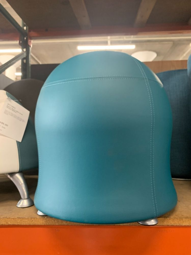 """23""""H Safco Zenergy Ball Chair (Turquoise)"""