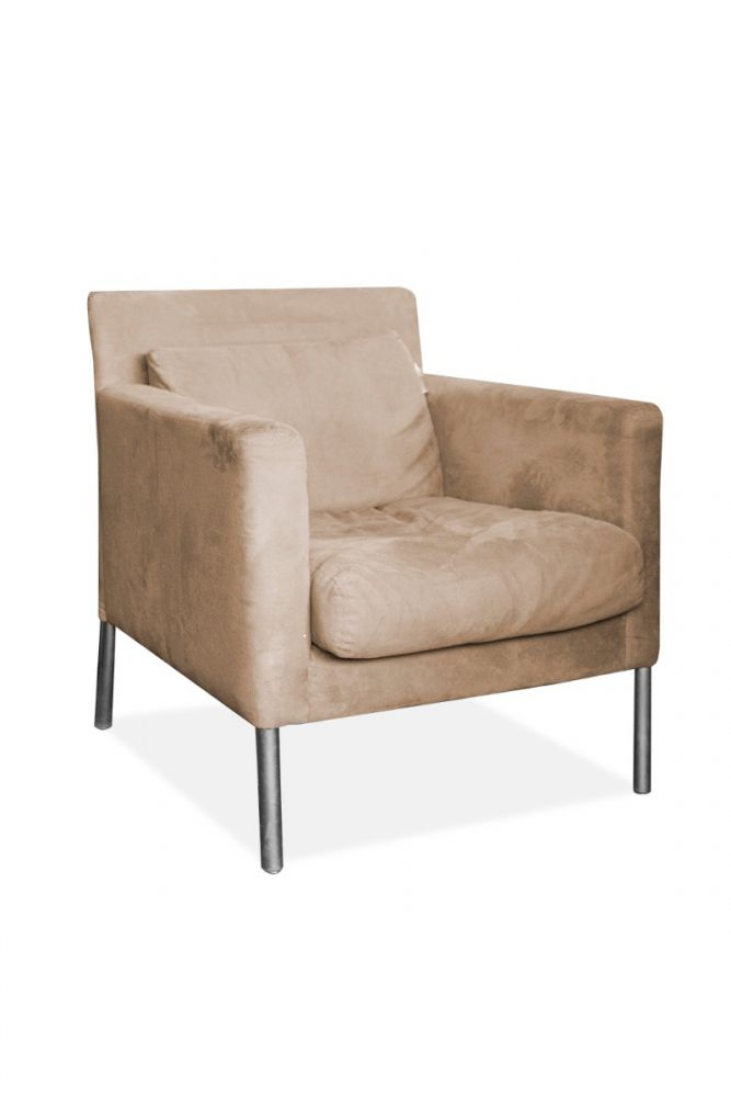 Brayton Lounge Chair (Tan Suede)