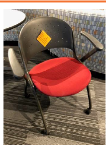 Mobile Nesting Chair (Red)