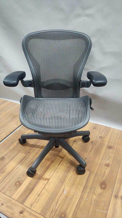 Fully Restored Herman Miller Aeron 'B' Work Chair (Lead)