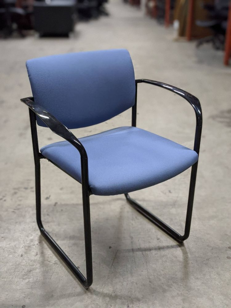 Steelcase Player Stack Chair (Blue)