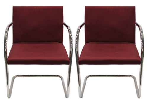 Knoll Brno Tubular Side (Red)