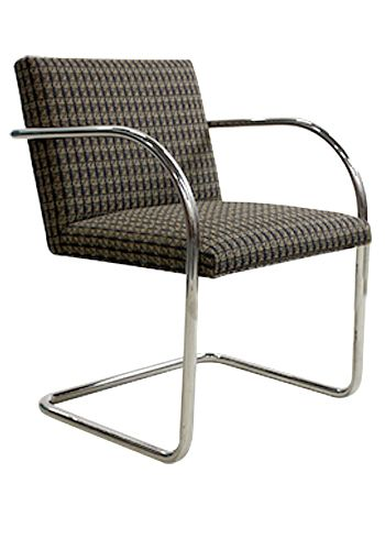 Replica Knoll Brno Tubular Side (Sienna Patterned)