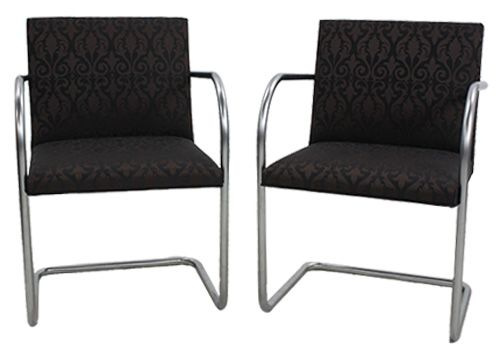 Knoll Brno Tubular Side Chair (Regis Raven)