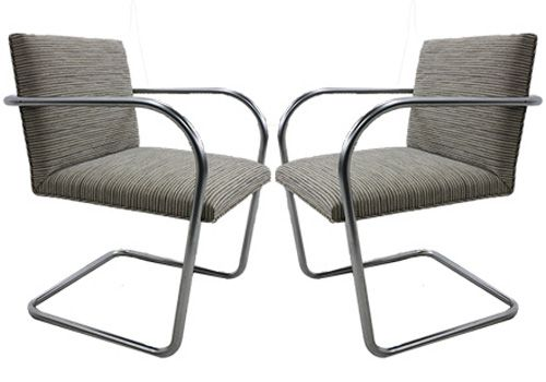 Knoll BRNO Tubular Side Chair (Gradation Berber)