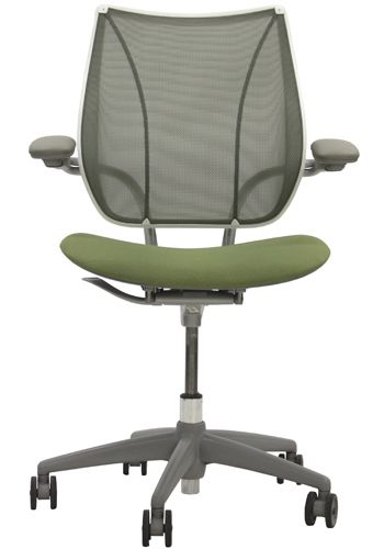 Humanscale Liberty Task Chair (Pinstripe Citron)