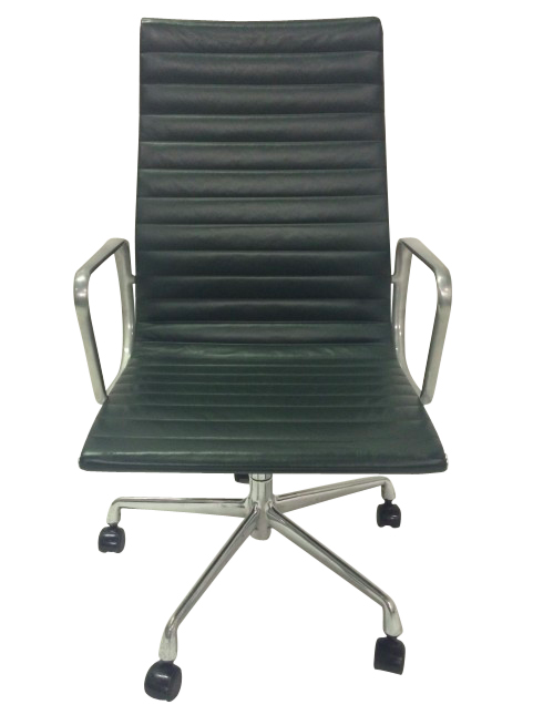 Herman Miller Eames Aluminum Group Chairs (Jade)
