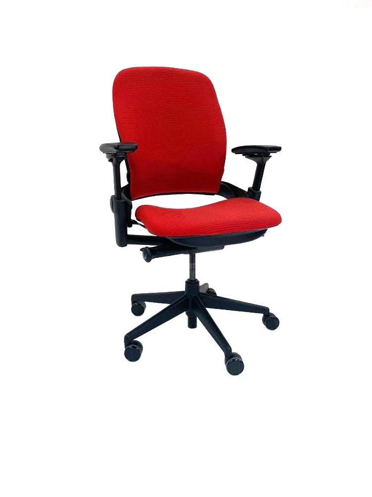 Steelcase Leap V2 Task Chair (Chainmail - Tricycle)