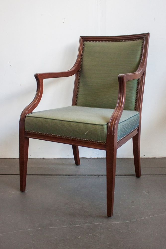 Baker Vienna Dining Armchair (Light Green)