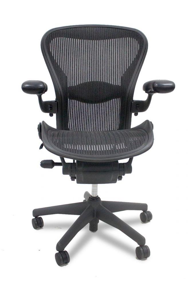 Herman Miller Aeron 'B' Work Chair (Carbon) 2 Tab