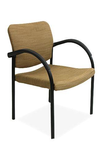 Allsteel Side Chair (Mustard)