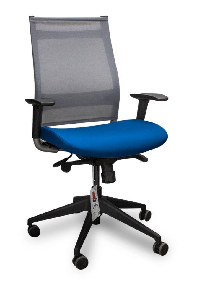 Sit On It Wit Task Chair (Nickel/Berrypop)