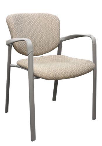 Haworth Improv Series Stack Chair (Platinum)