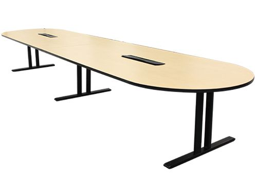 16' Maple Laminate Racetrack Conference Table