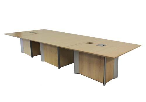 10' Maple Laminate Rectangular Conference Table