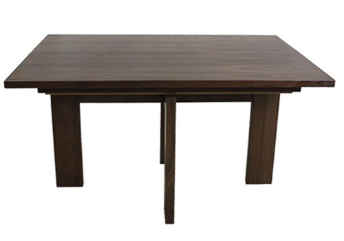 "56"" Skovby Walnut Rectangular Dining Table"