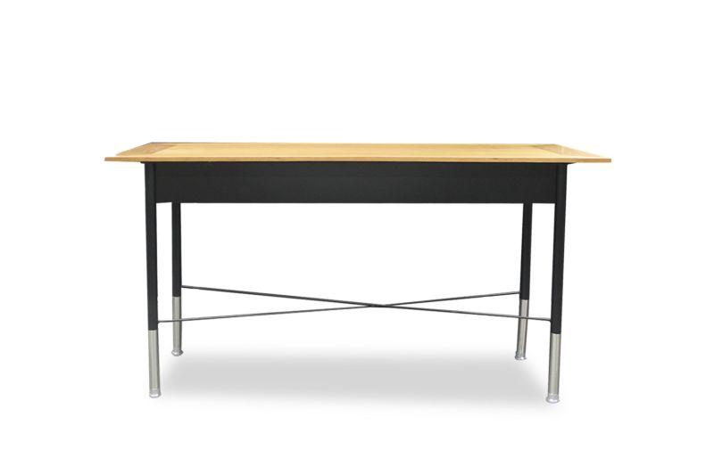 4.5' Geiger Crossbar Console Table (Walnut)