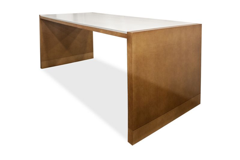 8' HBF Parker Collaboration Table (Alabaster White)