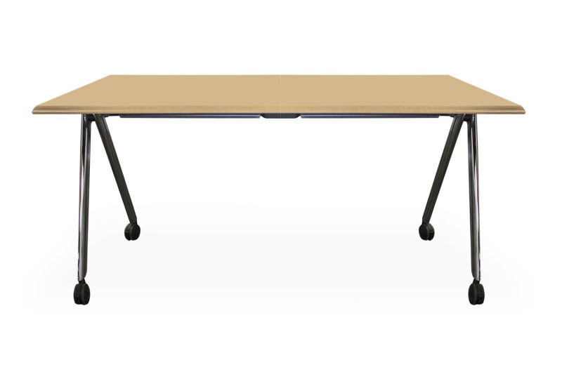 5' Versteel Paces Folding Training Table (Maple Veneer)