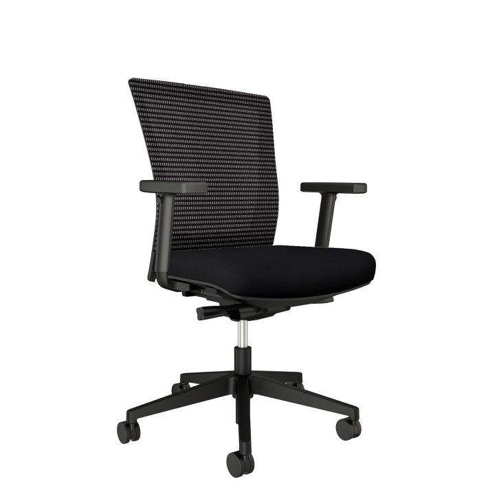 AIS Upton Black Task Chair
