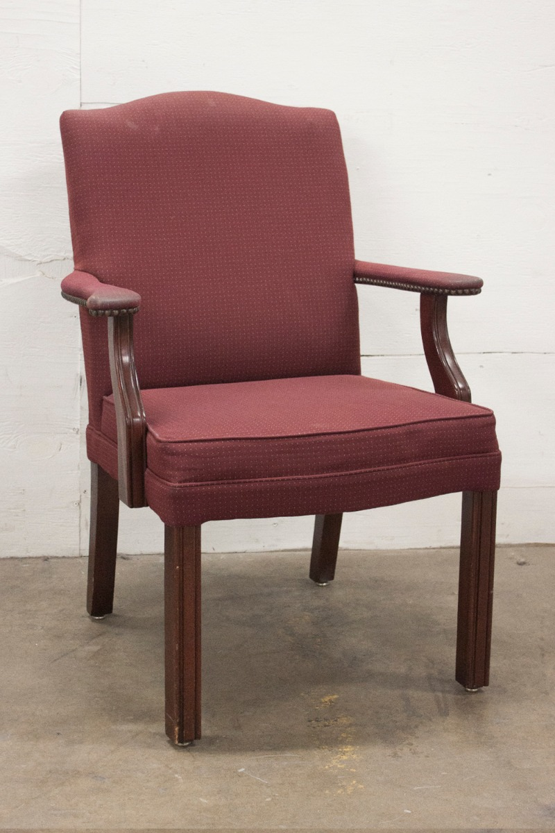 Martin Brattrud Lounge Chair Brown Suede