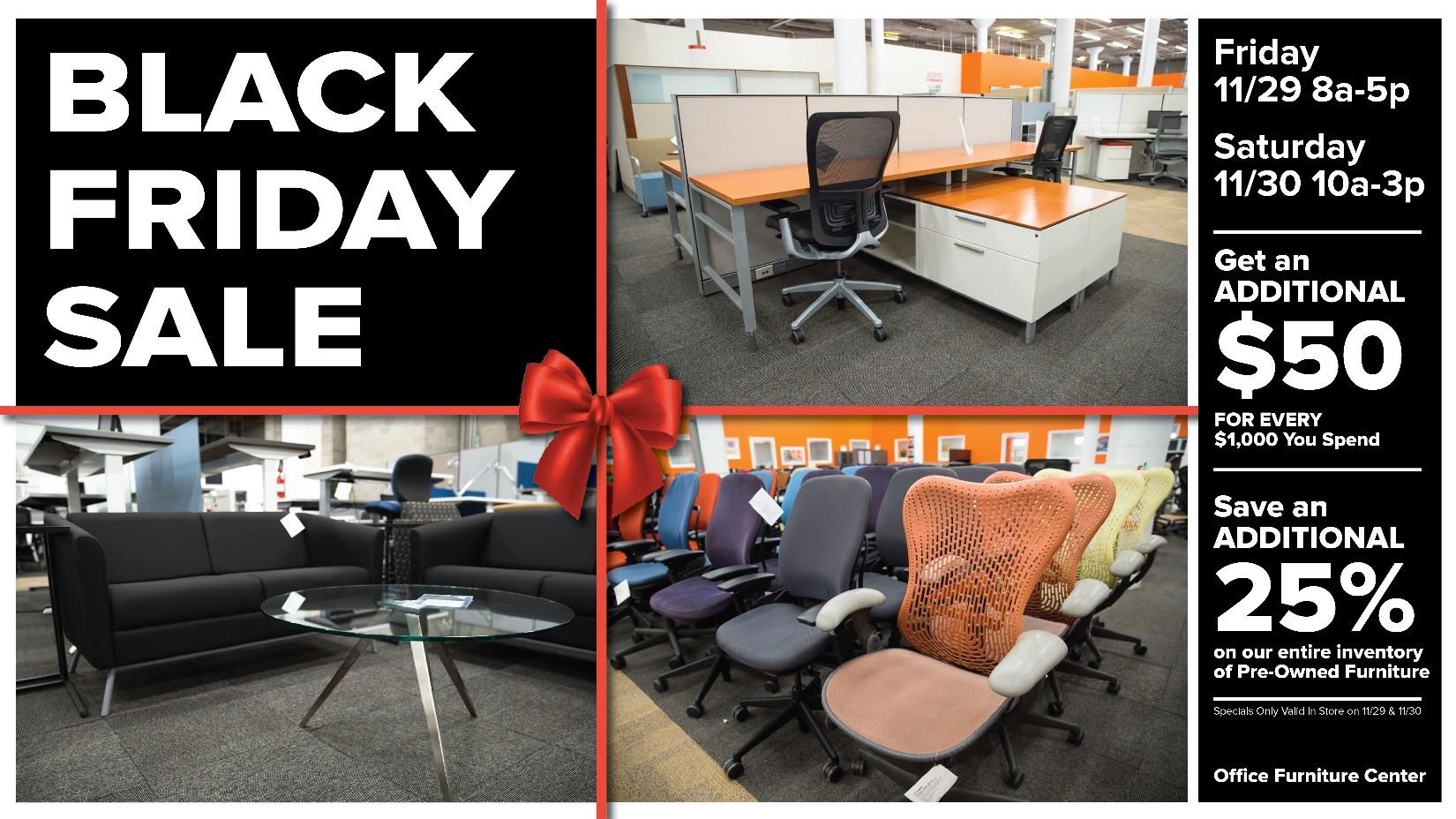 Office Furniture Center Black Friday Sale!