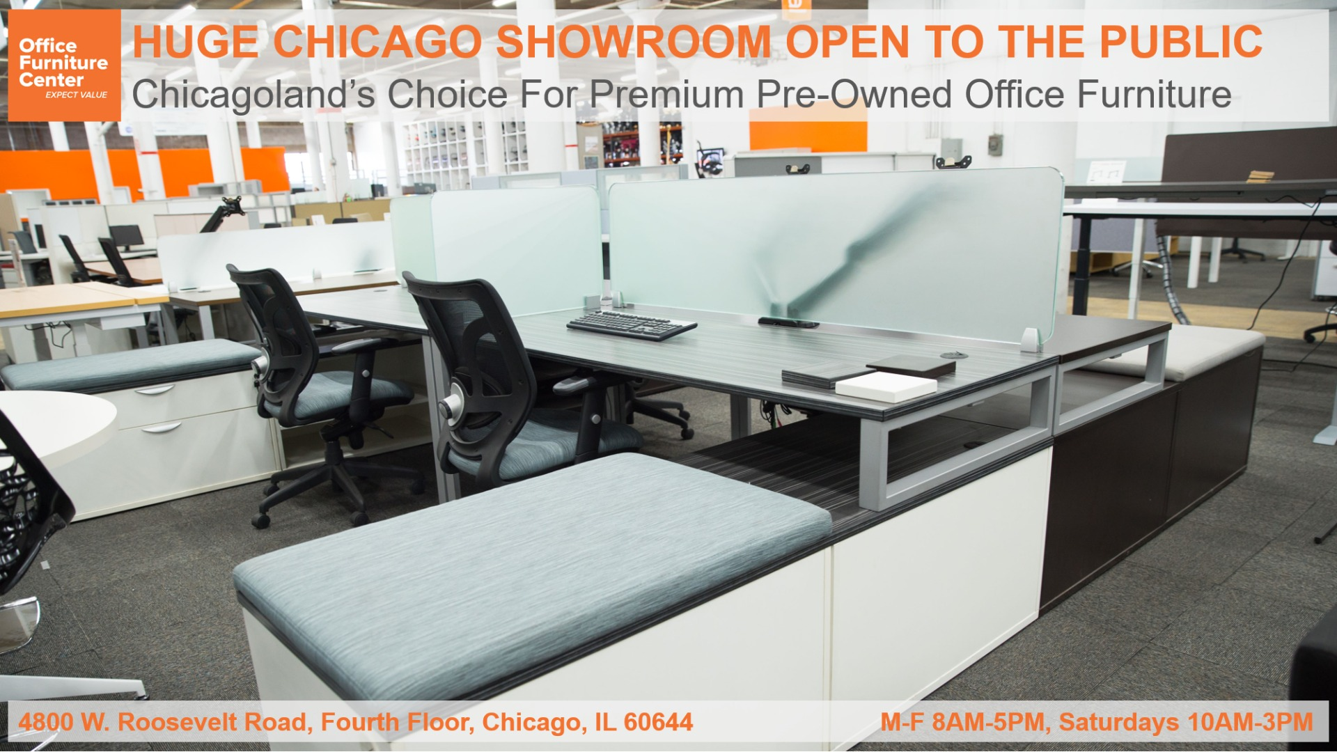 New and Used Office Furniture Chicago   Office Furniture Center
